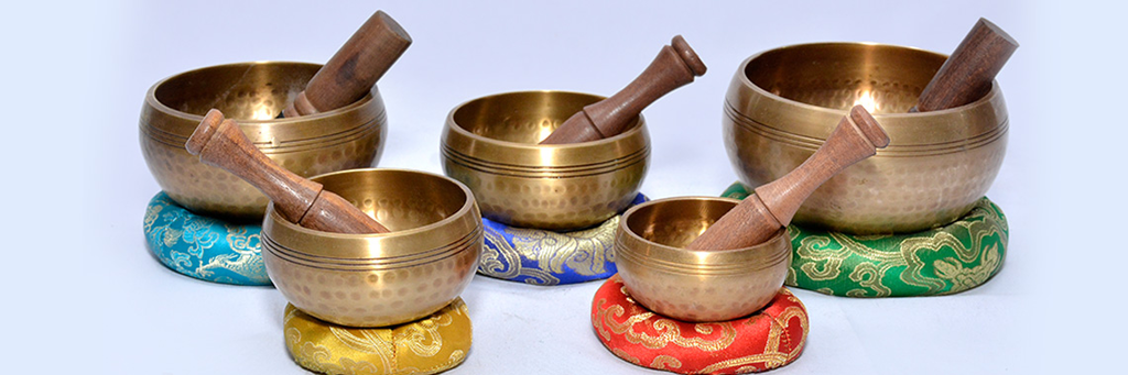 Singing bowls from Tibet