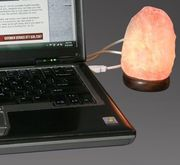 USB-salt lamps (orange)